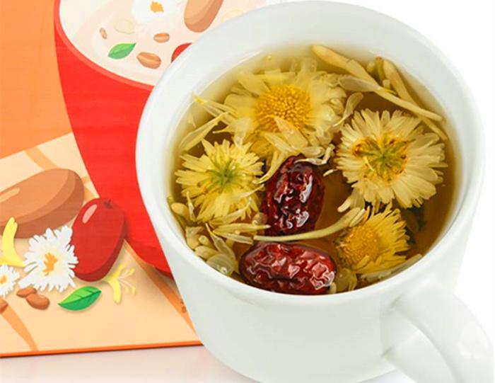 杭白菊花茶